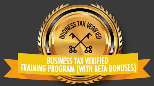 Frequently Asked Questions (FAQ) for Business Tax Verified Training Program