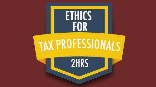 Pronto Tax School course badge