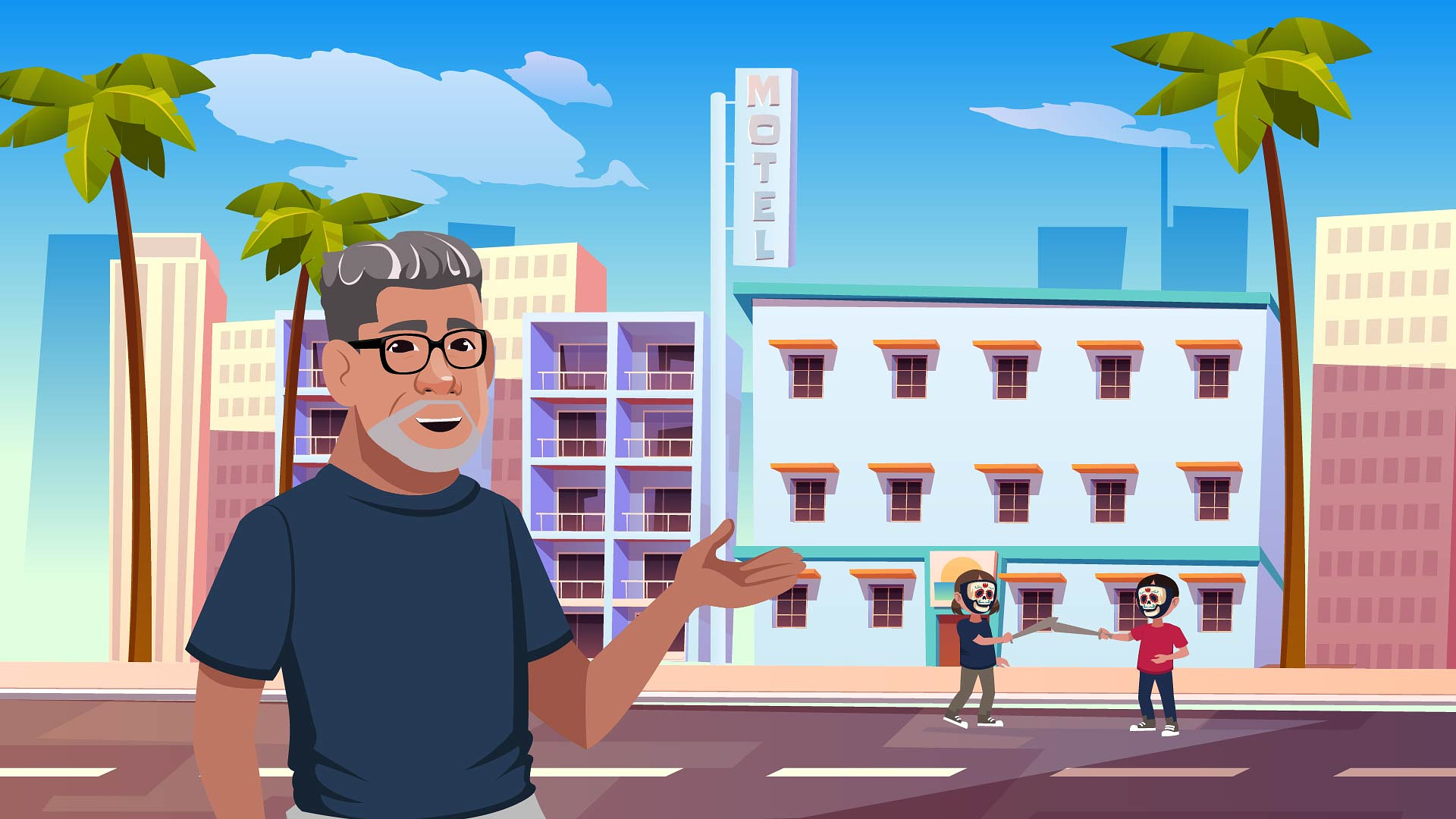 Animated Short Film Release on Carlos Samaniego's Life and Tax Career Story